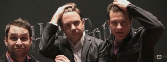Charlie Day, Jason Bateman, Jason Sudeikis interview HORRIBLE BOSSES at CinemaCon slice