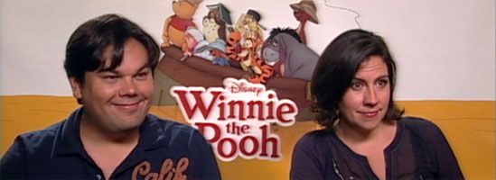 Songwriters Robert Lopez and Kristen Anderson-Lopez Video Interview WINNIE THE POOH slice