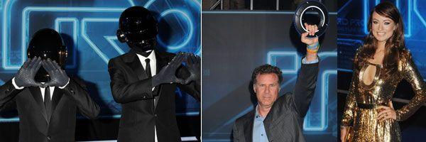 slice TRON: LEGACY Premiere Celebrity Images