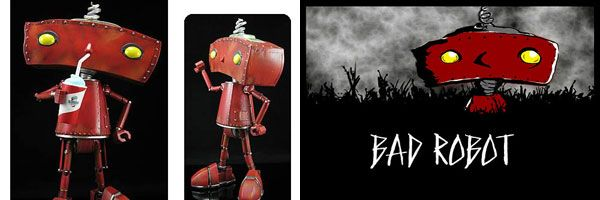 Limited Edition Bad Robot With Slusho Statuewith Collider