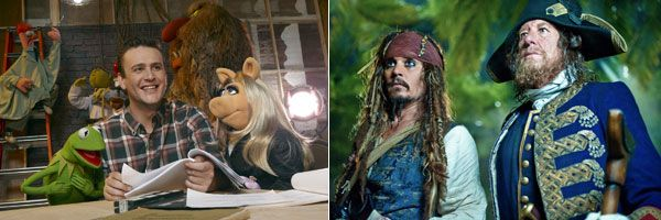 New Official Images from THE MUPPET MOVIE, PIRATES OF THE CARIBBEAN 4: ON STRANGER TIDES