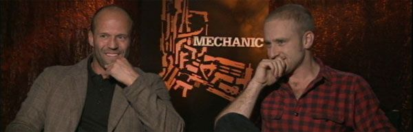 Jason Statham Ben Foster Video Interview THE MECHANIC slice