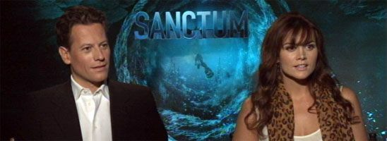Ioan Gruffudd & Alice Parkinson Interview SANCTUM slice