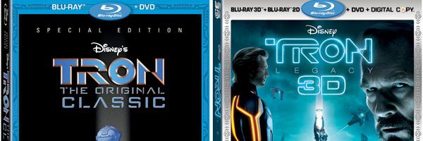 TRON and TRON: LEGACY Blu-ray slice