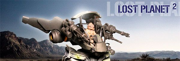 Kotobukiya's LOST PLANET 2 Action Figure Review slice