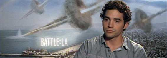 Ramon Rodriguez Video Interview BATTLE: LOS ANGELES slice