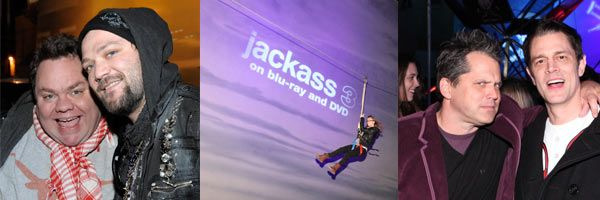 Jackass 3D Blu-ray party slice