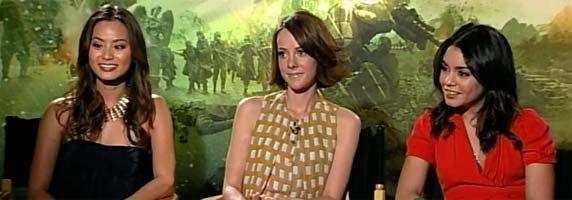 Jena Malone, Vanessa Hudgens Jamie Chung Interview SUCKER PUNCH slice