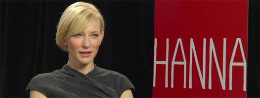 Cate Blanchett talks HOT FUZZ and THE HOBBIT slice