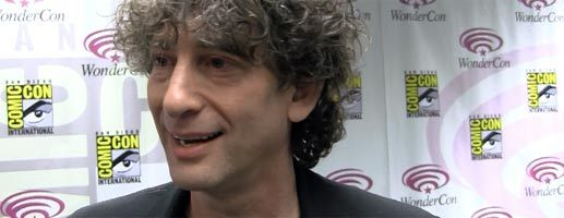 Neil Gaiman interview DOCTOR WHO at WonderCon slice