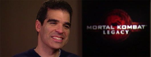 MORTAL KOMBAT Ed Boon Interview slice
