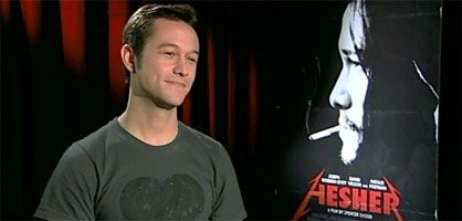 Joseph Gordon Levitt interview HESHER slice