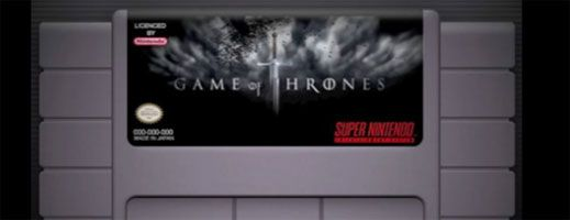 8-Bit Version of the GAME OF THRONES Theme slice