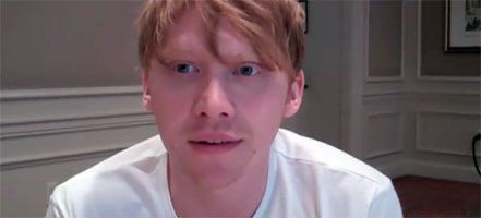 Rupert Grint Interview HARRY POTTER AND THE DEATHLY HALLOWS - PART 2 slice