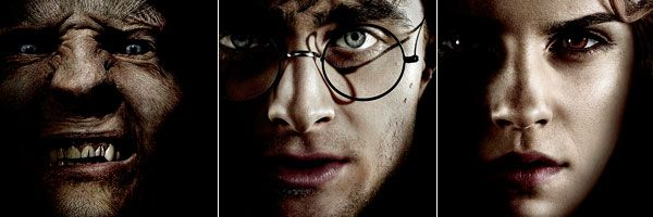 slice Harry Potter and the Deathly Hallows movie poster