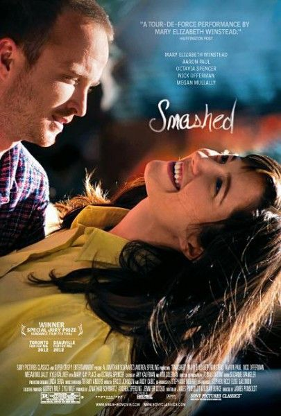 smashed-poster mary elizabeth winstead aaron paul