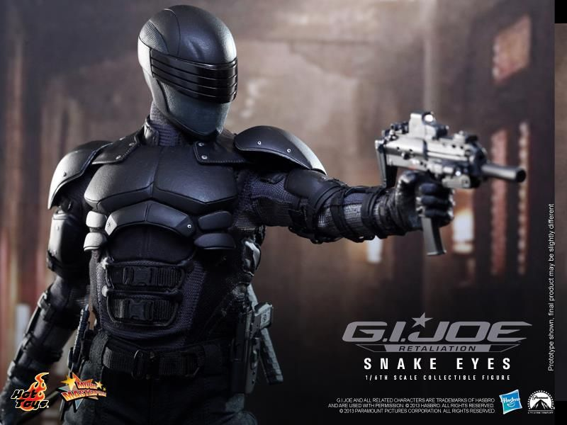 Snake Eyes Retaliation Armor