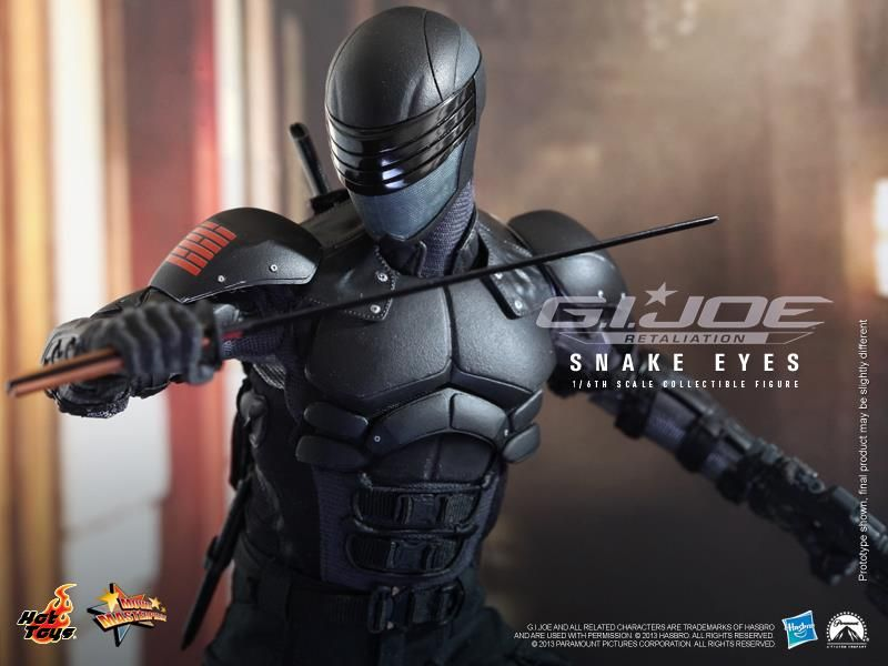Group of Snake Eyes Gi Joe