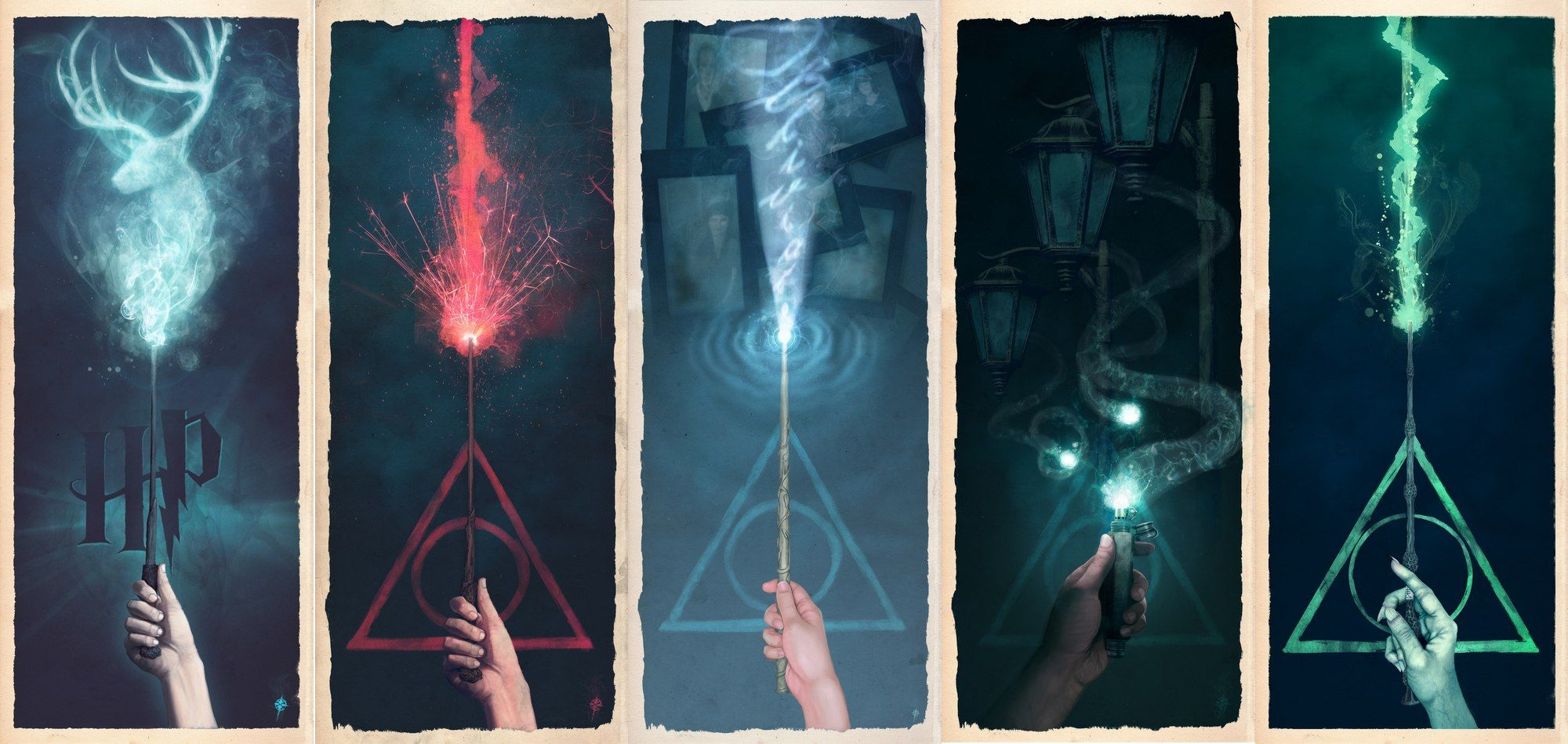 Harry Potter Book Light : Unlimited paper harry potter prints from society and