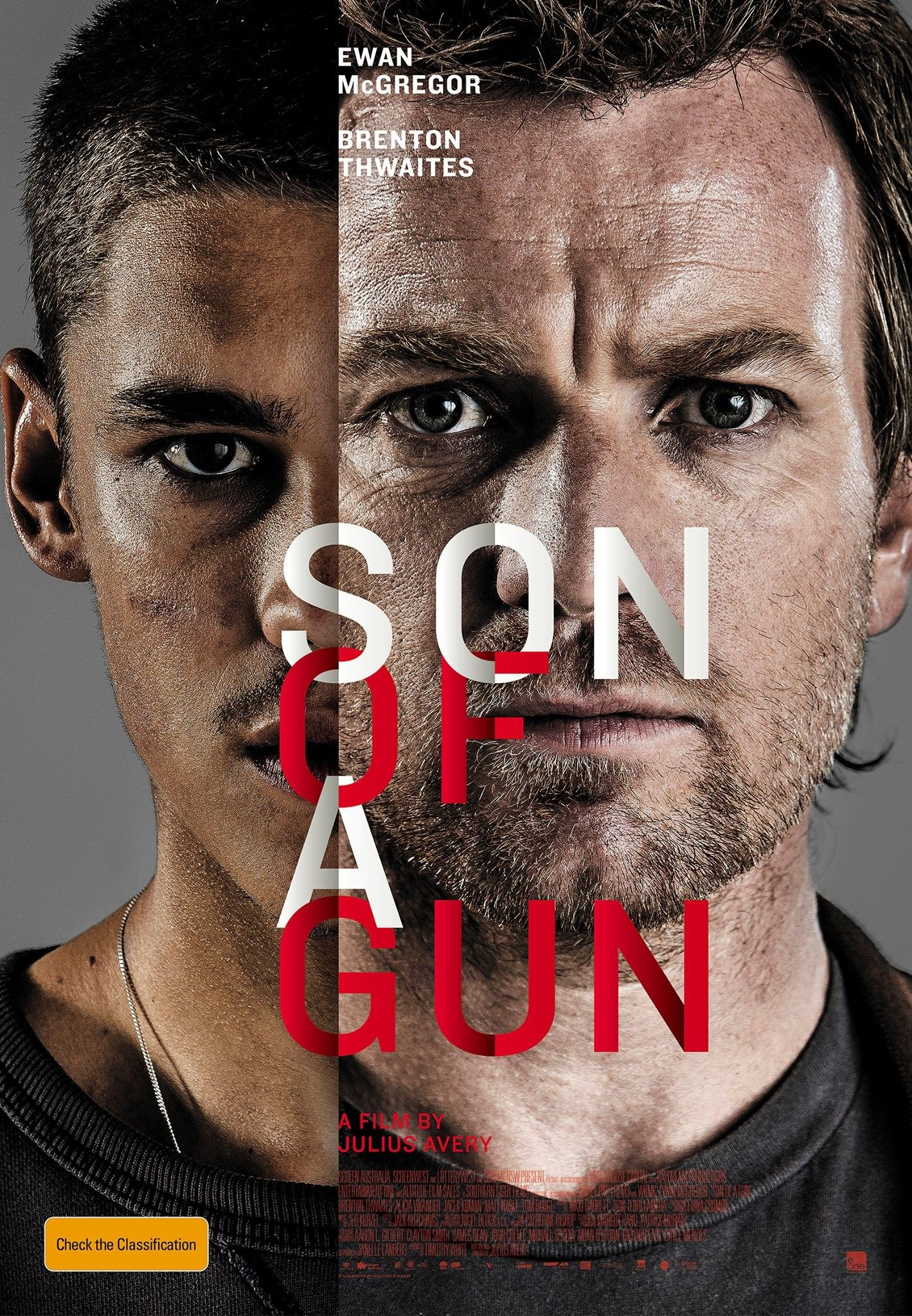 Poster for 2015 Australian action movie Son of a Gun