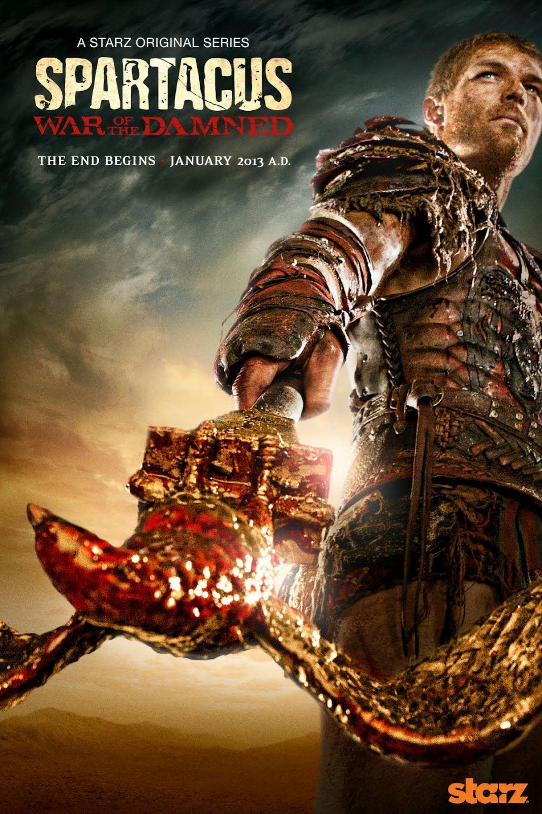 სპარტაკი: დაწყევლილთა ომი - Spartacus. War of the Damned /Спартак: Кровь и песок (2013)
