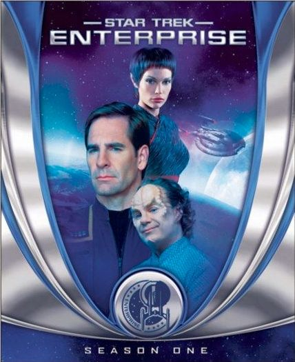 star trek enterprise season one blu ray