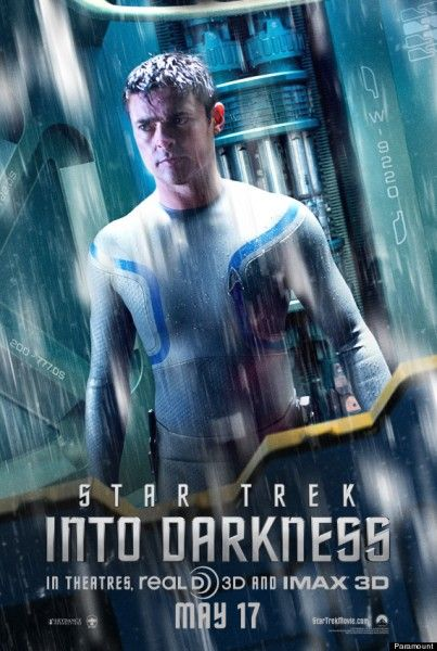 star trek into darkness poster karl urban