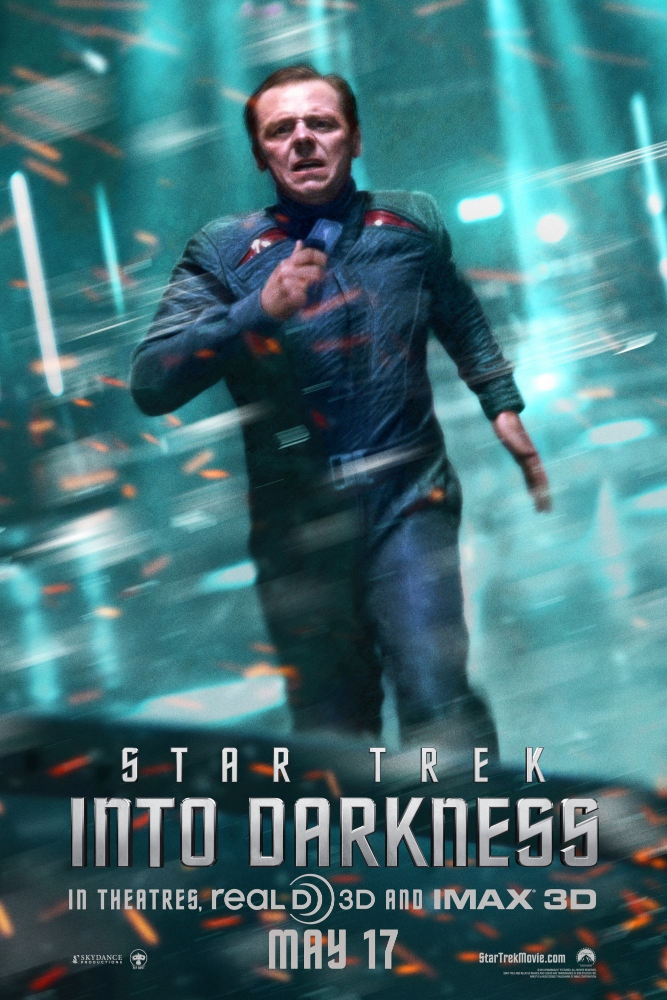 star trek into darkness promo and posters star trek into