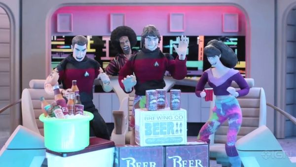 star trek robot chicken clip