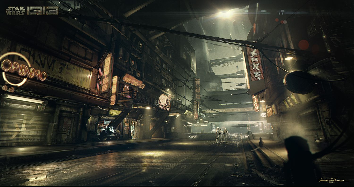 STAR WARS 1313 Concept Art Images; STAR WARS 1313 Was ...