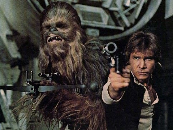 star wars episode vii cast chewbaca harrison ford