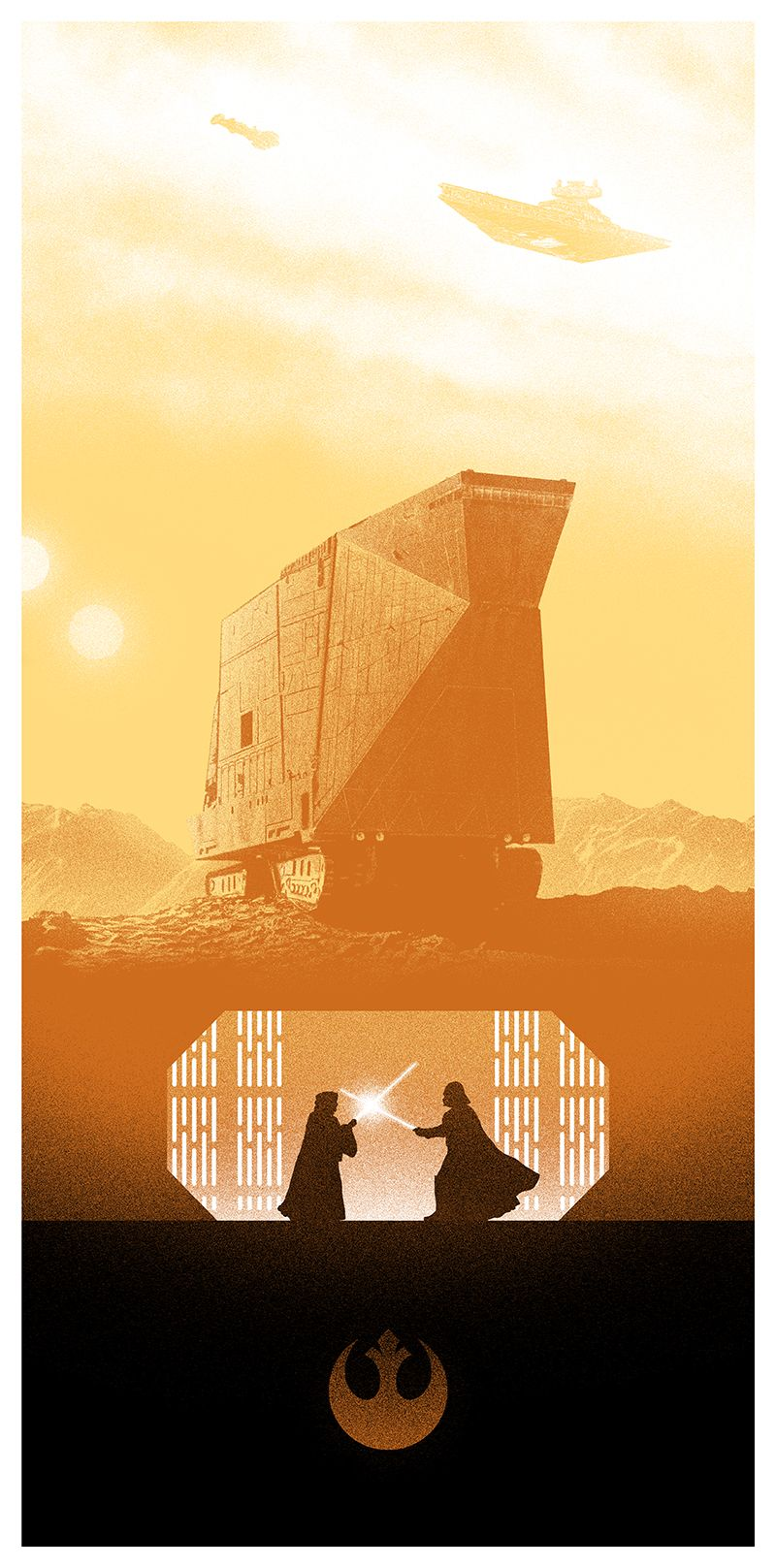 STAR WARS Posters from Marko Manev and Bottleneck Gallery | Collider
