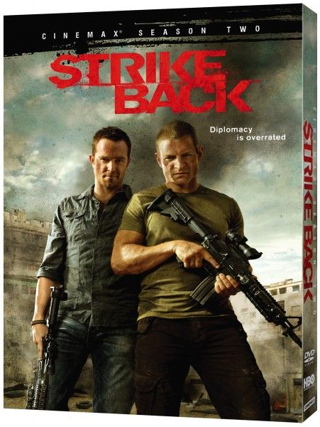 strike back blu ray cover