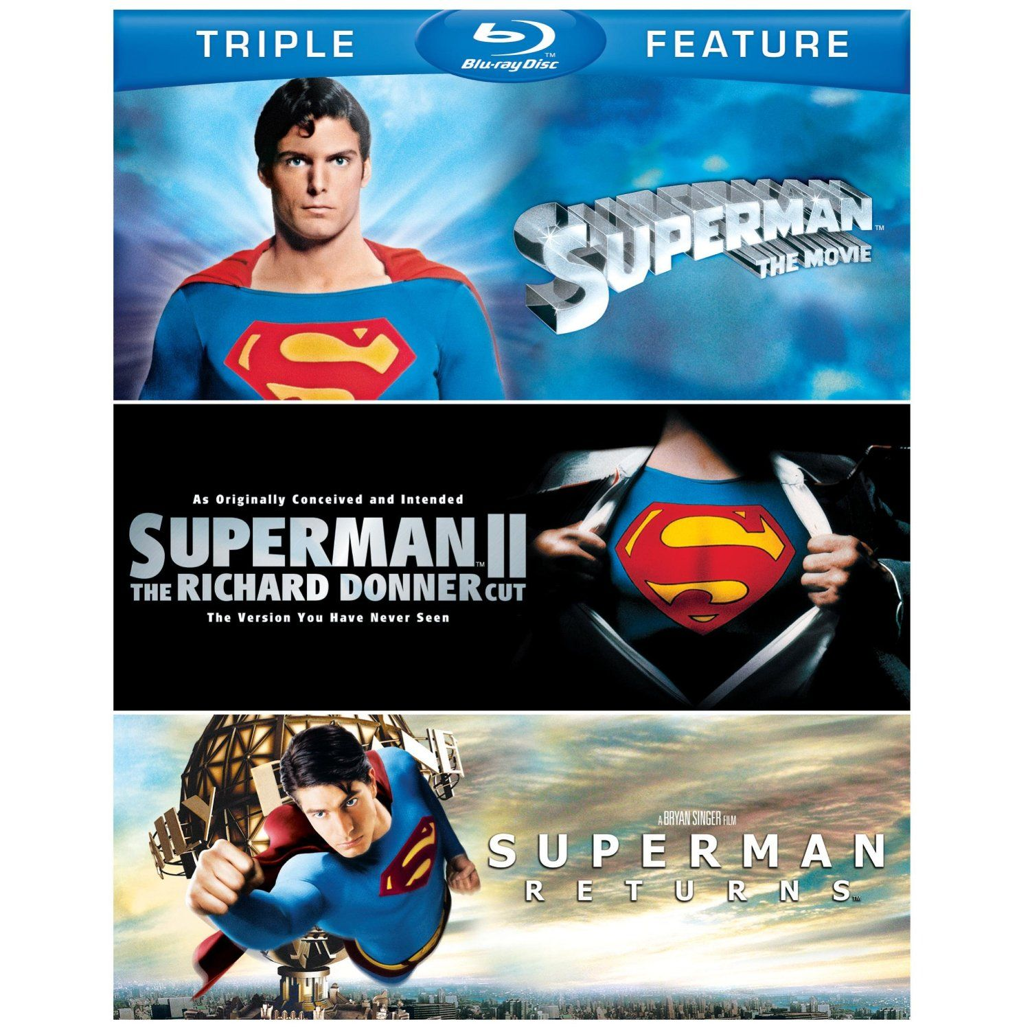 Triple Feature Dvd Opening 9 $9.99 Triple Feature Blu-rays