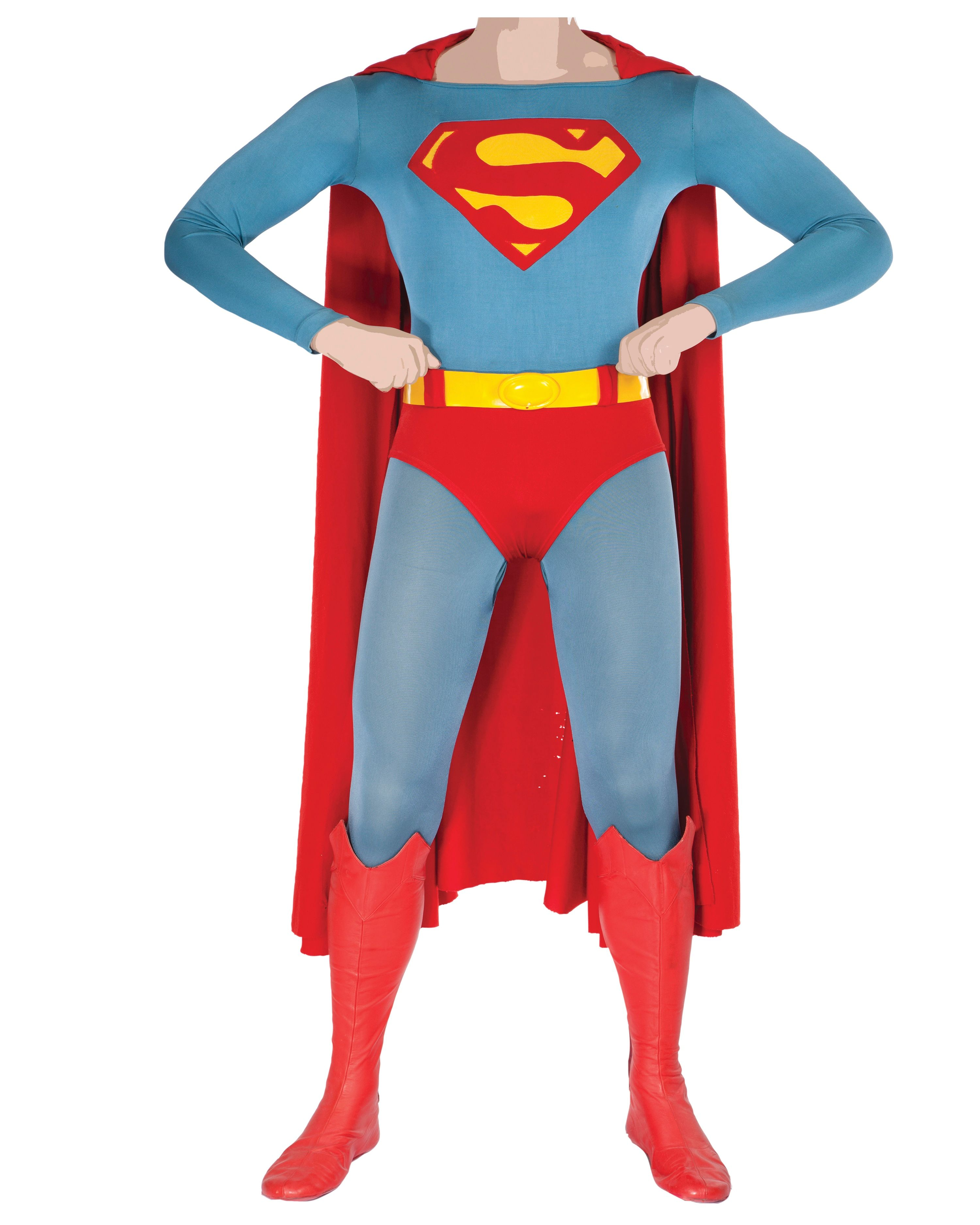 superman-costume-image  sc 1 st  Collider & Christopher Reeve and Marlon Brandou0027s Costumes from SUPERMAN: THE ...