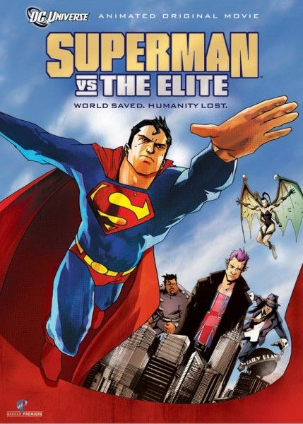 superman vs the elite poster