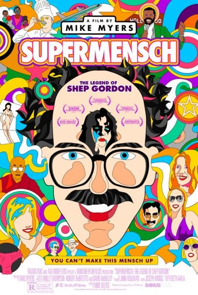 shep gordon supermensch poster