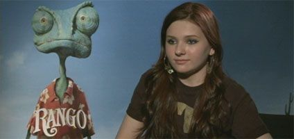 Abigail Breslin Video Interview RANGO slice