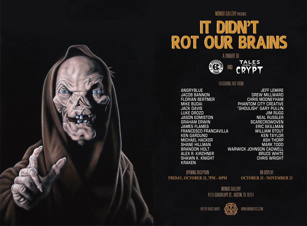 tales from the crypt mondo show postcard - Halloween Mondo Poster