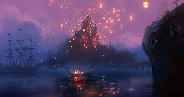 Collider Visits Disney Animation Studios for TANGLED – Part 2 ... for Lantern Festival Tangled  45gtk