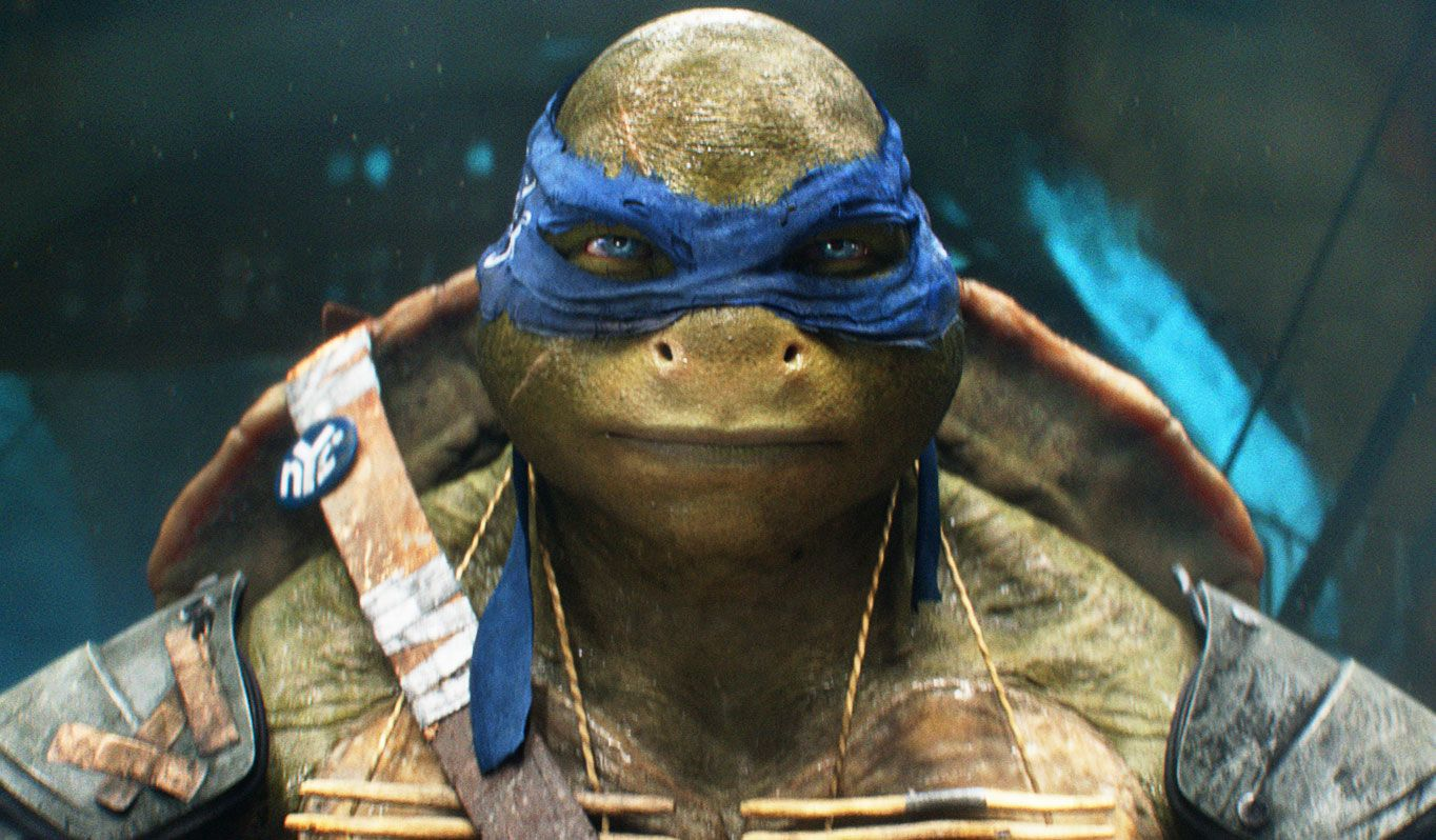 Teenage mutant ninja turtles set visit breaking down the turtles vfx collider - Tortues ninja leonardo ...
