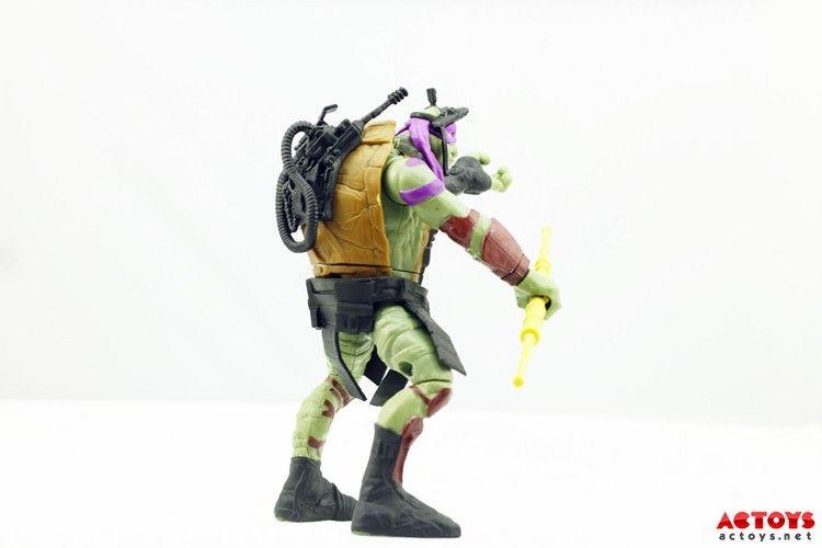 Ninja Turtle New Movie Toys : Teenage mutant ninja turtles movie toys images give a