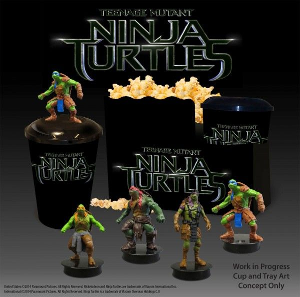 teenage-mutant-ninja-turtles-Theater Cup Minifigs