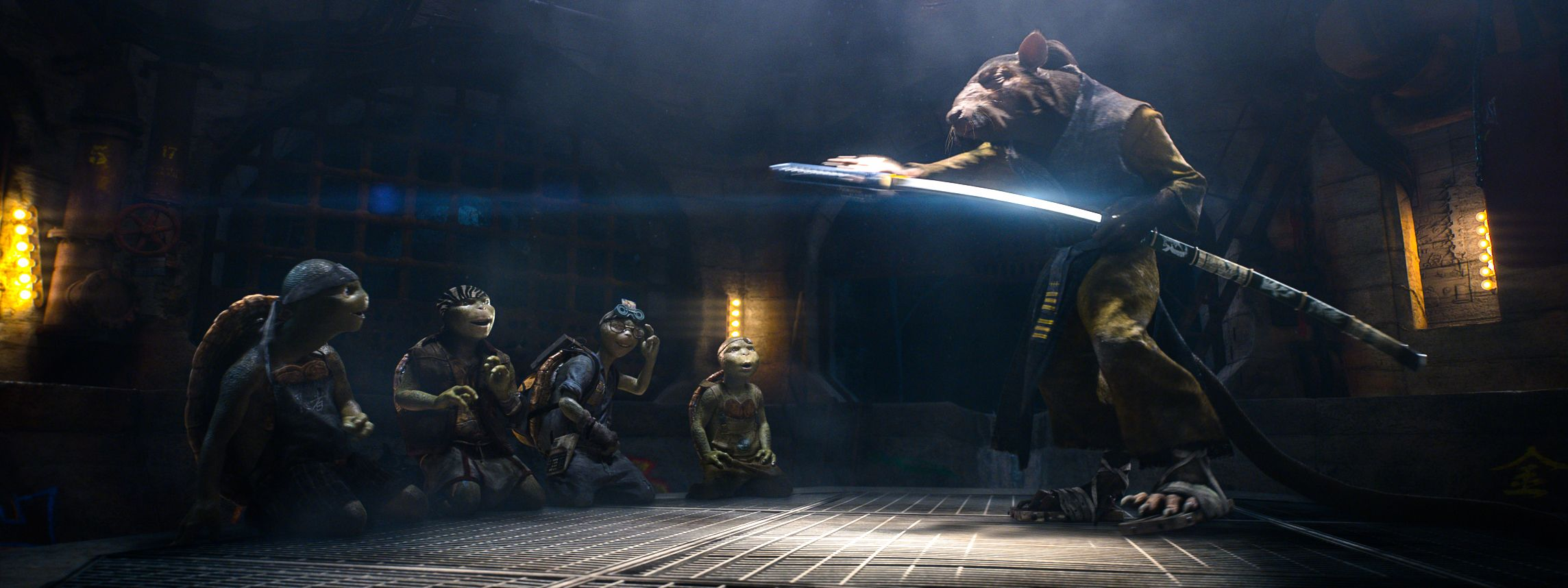 Teenage Mutant Ninja Turtles Images Reveal Splinter and ...