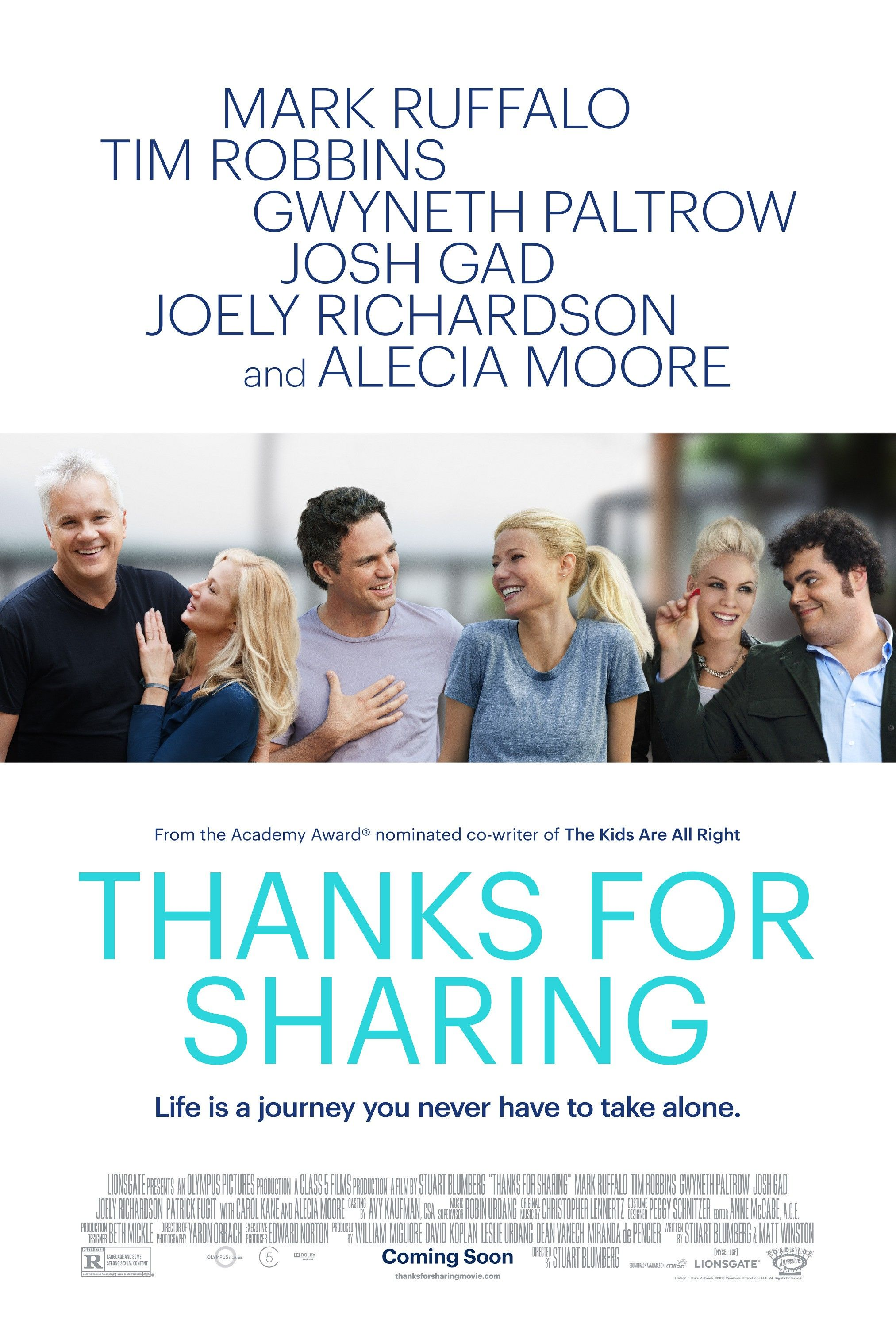 THANKS FOR SHARING Review. THANKS FOR SHARING Stars Mark Ruffalo and ...