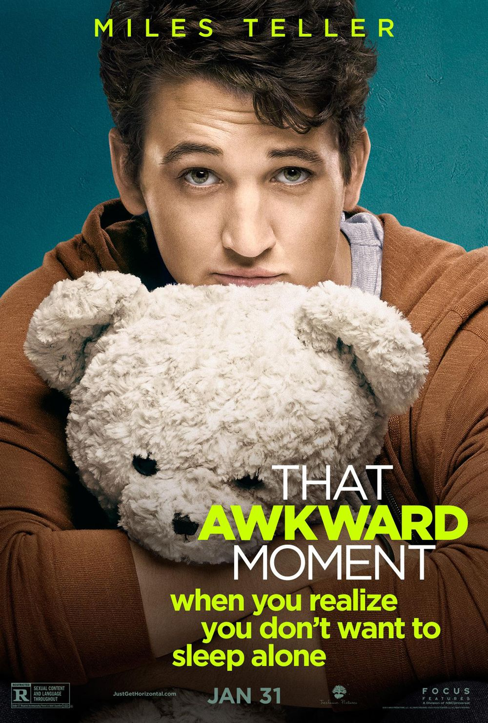 miles teller talks that awkward moment fantastic four and more that awkward moment poster miles teller
