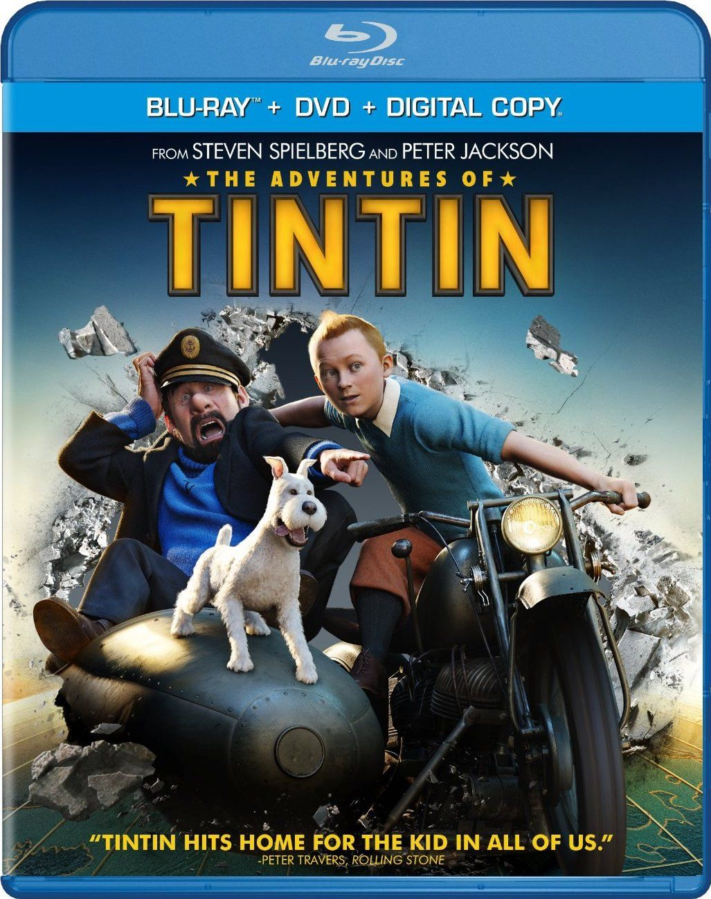 the adventures of tintin The adventures of tintin is a 2011 3d motion capture computer-animated epic adventure film based on the comic series of the same name directed by steven spielberg.