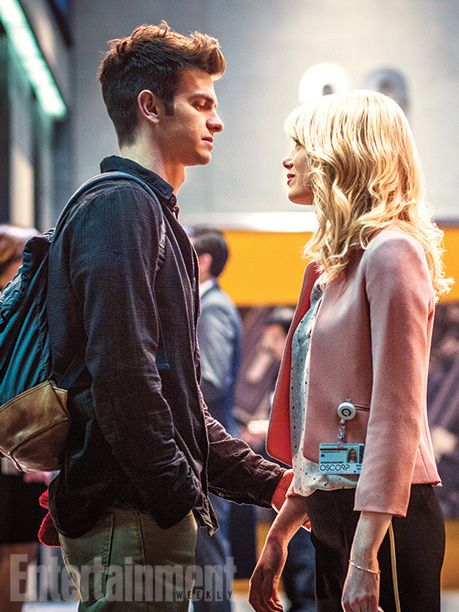 The Amazing Spider Man 2 Andrew Garfield Emma