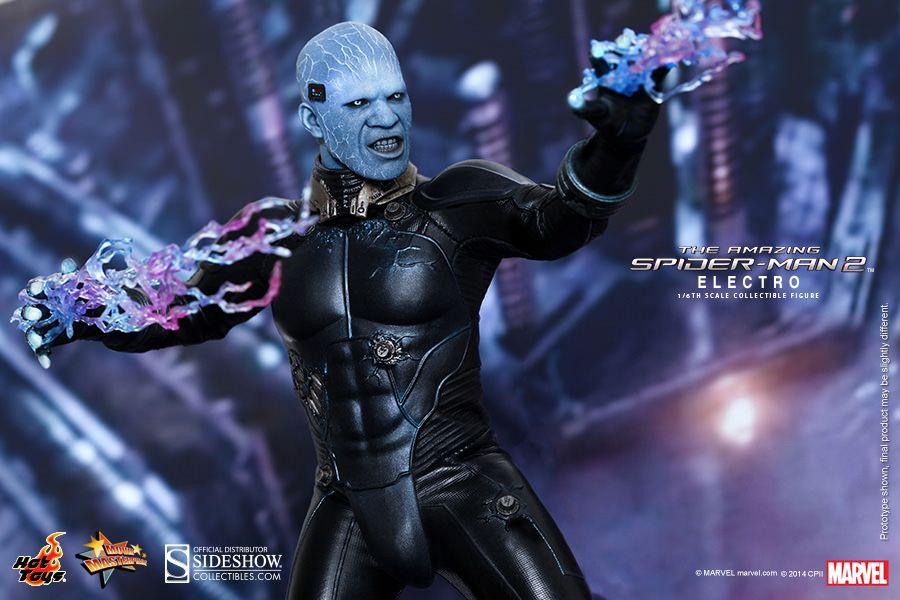 The Amazing Spider Man 2 Electro Hot Toys Figure Collider