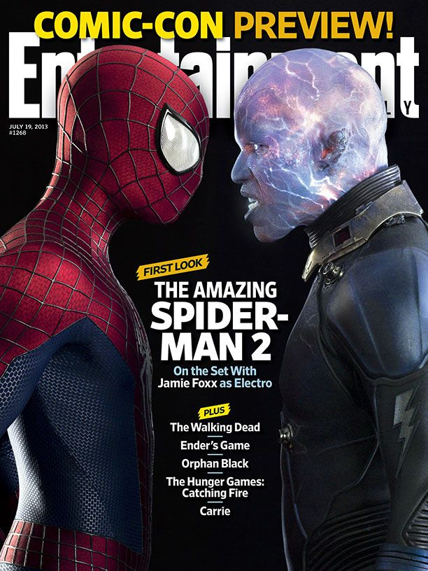 THE AMAZING SPIDER-MAN 2 Image Featuring Andrew Garfield ... | 612 x 816 jpeg 148kB